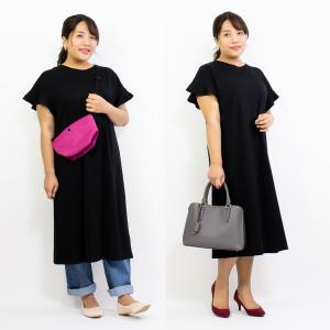 【GU】衝撃の990円!ぽっちゃりさんも着やすいTシャツワンピ♡