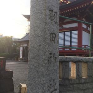 神社へ行った時。