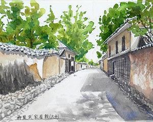 日本一の城下町(杵築の武家屋敷)