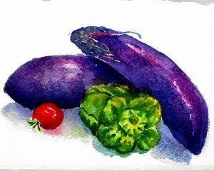 茄子が主役の夏野菜