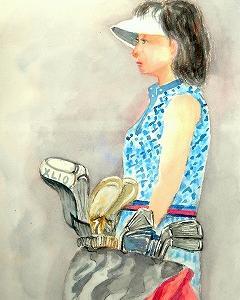 ゴルフが趣味の女性パート2(済生会カルチャー)