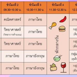 タイ現地校オンライン授業