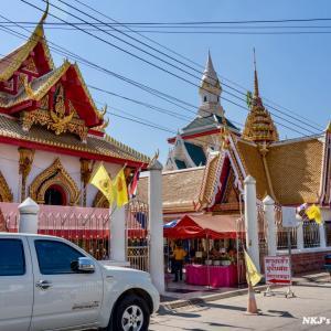 ワット・ナンパヤー Wat Nang Phaya, Phitsanulok(女王の寺院) - タイのお守りプラクルアンで有名な寺院
