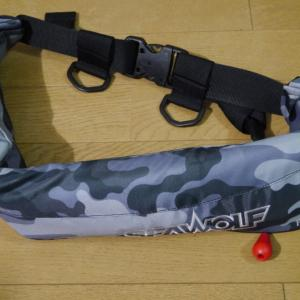 桜マーク付きライフジャケット