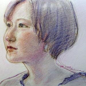 Chihiroさんを描く☆