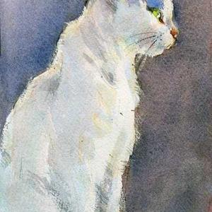猫を描く☆