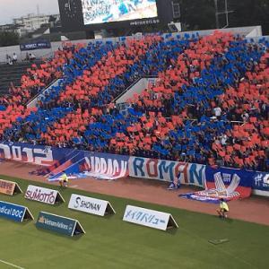 なぜかポッカリと時間が空いたんで、三ツ沢まで横浜FC対甲府戦を見てきました。