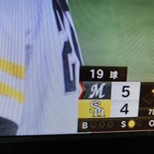 【千葉ロッテ】美馬投手が痛打・逆転されても、そこから再逆転を(;゚Д゚)