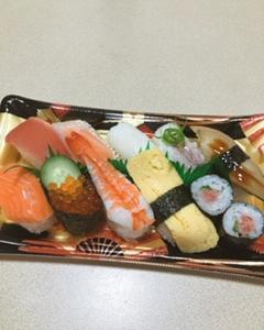 食べたかったお寿司!