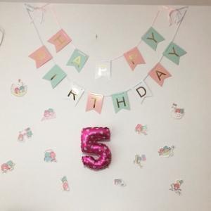 【娘5歳】5歳の誕生日プレゼントとピアノの発表会♪