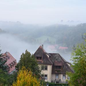 【2019年ドイツ・オーストリアの旅⑩】ローテンブルグ、川霧の朝
