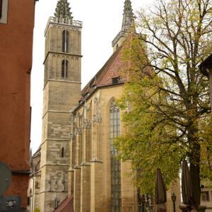 【2019年ドイツ・オーストリアの旅⑫】ローテンブルグ午後の部①聖ヤコブ教会とスィーツと
