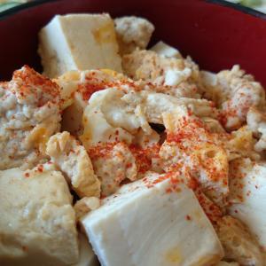 がっつり系豆腐飯