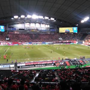 札幌ドーム鹿島戦