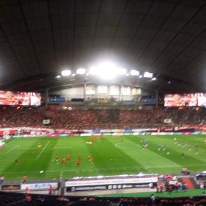 札幌ドームガンバ戦