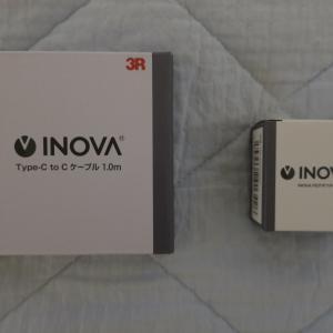 製品レビュー:INOVA USB Type-C ケーブル USB Type-C PD 充電器 セット