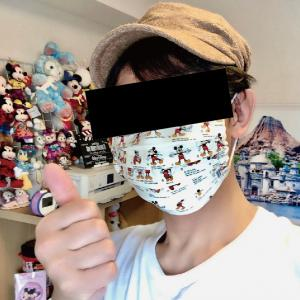[記事]ほぼ...2度見される「ディズニー柄」のお手製マスクをいただきました!