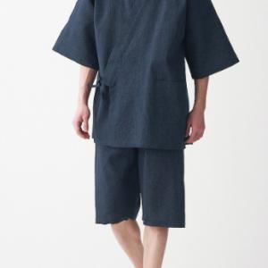 まさか甚兵衛・作務衣をスイスで買ってスイスの夏を寛ぐ長男を見れるととは。