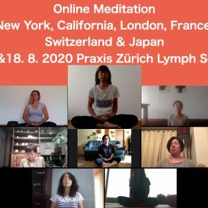 瞑想&お茶会をオンラインで開催次回は9月19日(土)スイス時間15時から