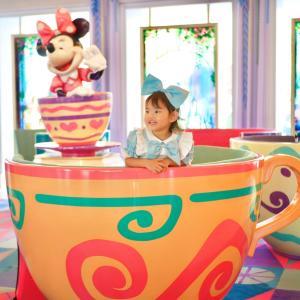 アリスのティーパーティー♡ ディズニーホテルをお散歩♪