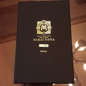 ・ミラコスタのスイートルームの新しい記念品