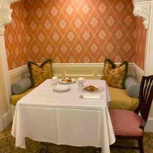 ・東京ディズニーランドホテルのルームサービスをちょこっととルームサービスの変更