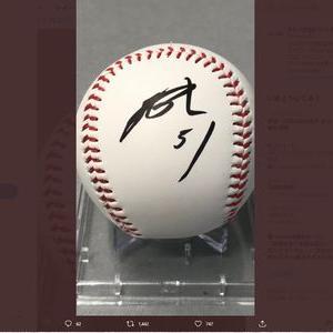 【2021/06/09締切】:ソフトバンク 上林誠知選手の直筆サイン入りボールが当たる!