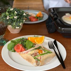 【おうちで旅行気分♡料理】カルディのMIXを使って、おうちガレット