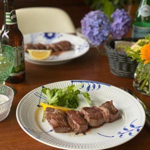 美味しいステーキの焼き方♡魚焼きグリルを使うと、美味しい!