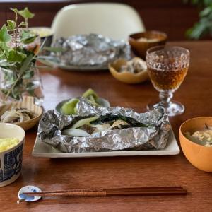 アルミホイルを使い、フライパンで「蒸し魚」