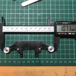 ミニ四駆作ってみた〜その420 「新マシン構想:105mmを超える可動バンパー」