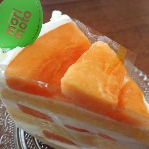 メロンのケーキがおいしすぎた~。@もりもと