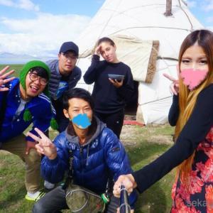 ソンクル湖でアクティビティ!グループならではの人間模様