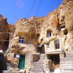 岩穴に住む人々!?カッパドキアのようなイランの不思議な村へ