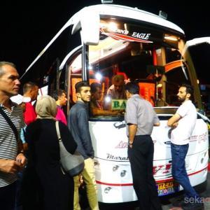 さらばイラン!アゼルバイジャン行きのバスでまさかの・・・