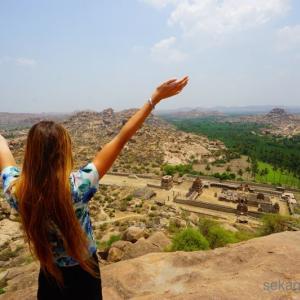 ゾウのいる寺院で結婚式?ハンピの不思議な絶景スポット マータンガ丘