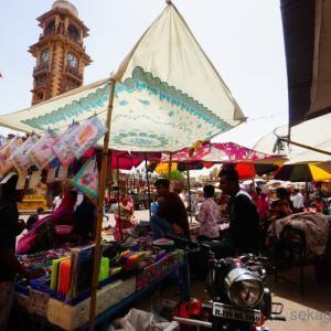 ムンバイからジョードプルへ。ワンピースのモデルの街でオムレツ食うっていう誰もが通る道