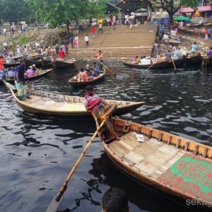 バングラ ダッカの街歩き と 黒い海ショドル・ガット
