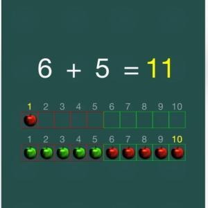 算数学習 アニメーション付きで理解しやすい