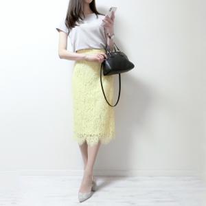 ヒップラインが響かなさすぎて感動…!神戸レタス2400円のレーススカート