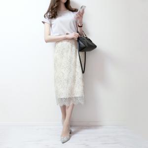 婚活デートでかなり重宝した‼きれいめ花柄レーススカート♡