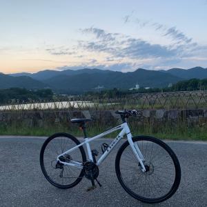 クロスバイクで坂練習 ^ ^