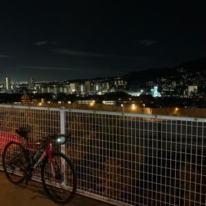 夜ライド ^^