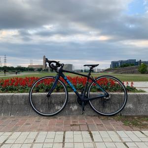ロードバイク 初ライド(*゚▽゚)ノ