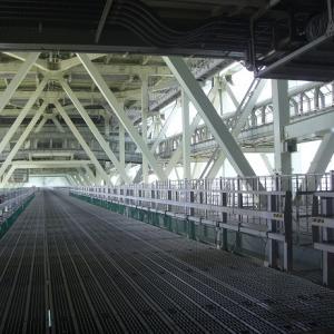 海の上を歩く@明石海峡大橋
