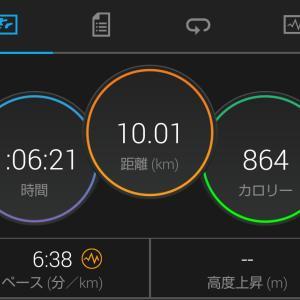 ラン練   10km