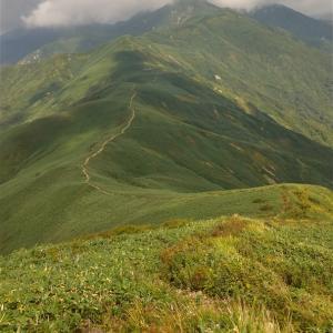土樽から茂倉岳~武能岳~蓬峠周回