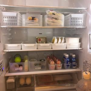 1番苦手な冷蔵庫の収納!今までで1番納得できた収納に。