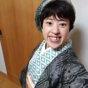着物に合う帽子をGET☆