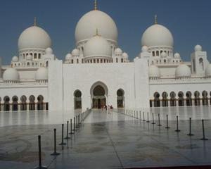 ドバイ・アブダビ旅行(シェイク・ザイード・グランド・モスク)2012年6月
